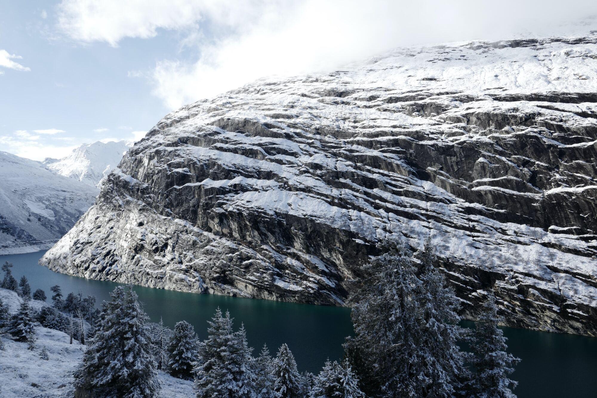 Das Bergdorf Vals in Graubünden