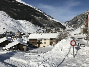 Winterbild Vals