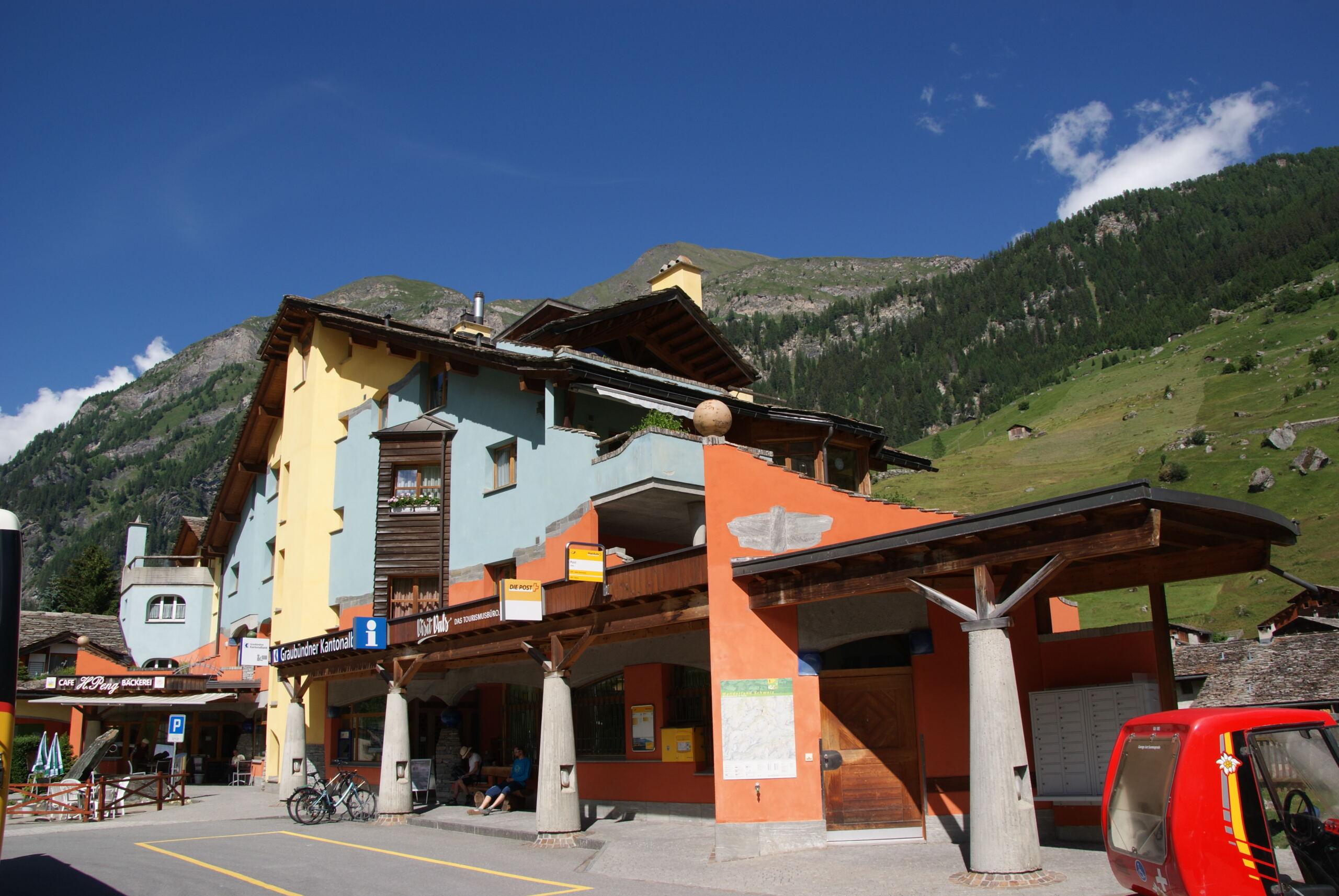 Vals Posthaltestelle Vals-Zervreila