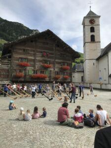 Dorfplatz Vals