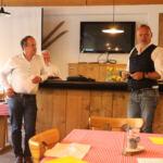 IGZW-Vals GV in Gadastatt, Vals, Erich Baumgartner und Stefan Schmid