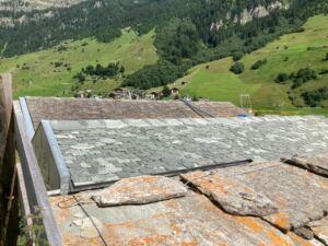Trilogie der Steindächer in Vals